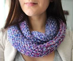 how to knit an infinity scarf on a loom 15 steps with pictures