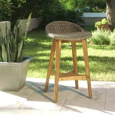 World Market Outdoor Chairs by Gray Wicker And Wood Taormina Barstools Set Of 2 World Market