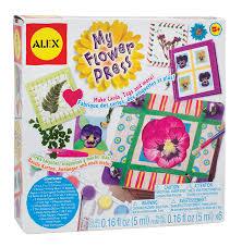 amazon com alex toys craft my flower press toys u0026 games