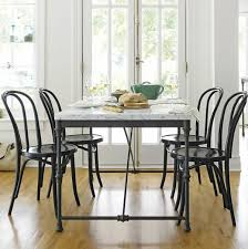 Wrought Iron Kitchen Tables by Top 25 Best Marble Top Dining Table Ideas On Pinterest Marble