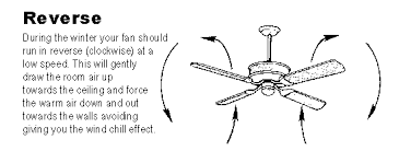 what direction for ceiling fan in winter how and why to change the direction of your ceiling fans in summer