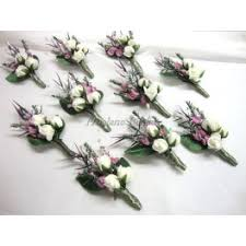 boutonniere flower 10 silk flower boutonnieres hoalane bridal