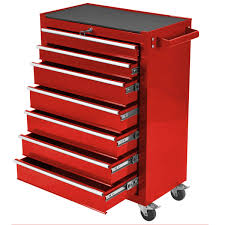 Rolling Tool Cabinets Charles Bentley Tool Box 7 Draw Rolling Cabinet 4 Colours