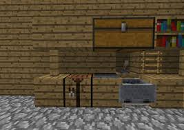 minecraft kitchen ideas minecraft pocket edition maple kitchen cabinets and wall color
