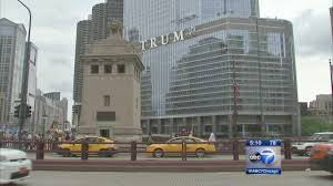 Trump Tower Chicago Floor Plans by Trump U0027 Now Part Of Chicago Skyline Abc7chicago Com