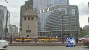 trump u0027 now part of chicago skyline abc7chicago com