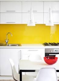yellow and white kitchen ideas 14 best yellow glass splashbacks images on glass