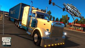 kenworth vs peterbilt peterbilt ats american trucks