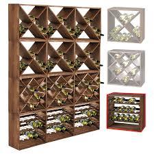 cuisine vin système d étagère à vin cube 50 tobacco module 4 standard h50 x