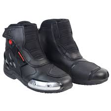 black leather moto boots online buy wholesale black motorcycle boots for men from china