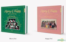 yesasia the 1st album repackage merry happy random