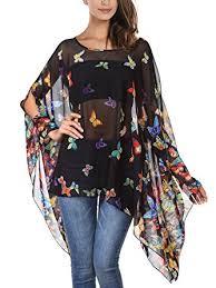 sleeve chiffon blouse djt bohemian hippie oversized batwing sleeve chiffon t