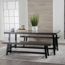 Dining Room Bench Sets Modern Bench Dining Room Sets Allmodern