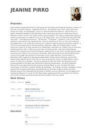 Resume Bio Examples by Judge Resume Samples Visualcv Resume Samples Database