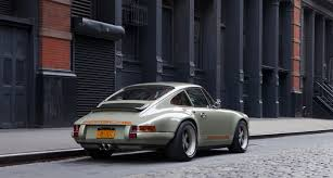 singer porsche red urban music 911 re imagined by singer in new york classic