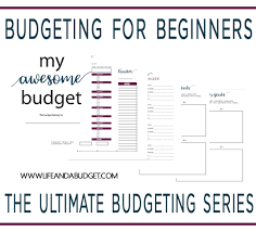 How To Make Budget Spreadsheet How To Use A Simple Budget Worksheet For Budgeting Success Life