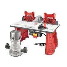router table reviews fine woodworking craftsman router and router table combo