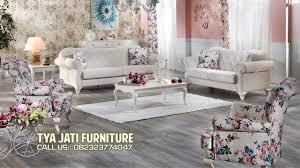 jual sofa tamu mewah shabby chic harga lokal untuk mebel mahoni