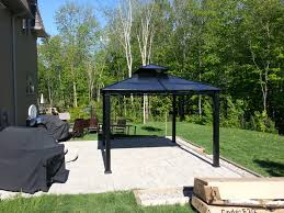 Patio Gazebo 10 X 10 by Essex Hard Top Gazebo Gazebo Assemblies Pinterest