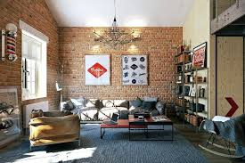 spectacular industrial loft living room ideas assorted with knacks
