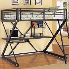 bunk bed with desk for adults unac co