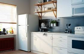 kitchen space saving ideas for small kitchens white cabinets with