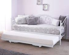 White Daybed With Trundle Day Beds With Trundles Ebay