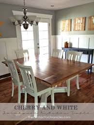 kitchen table furniture wood farmhouse table rev hometalk
