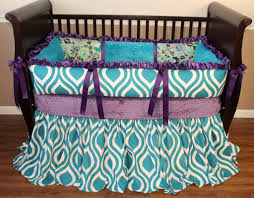 Teal And Purple Crib Bedding Purple And Teal Nursery Bedding At Target Purple And Teal