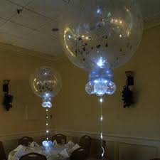 jumbo balloons jumbo floating 3 ft with ligh led ribbon all about balloons llc