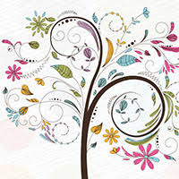 450 free graphics lush vector trees and summer leaves
