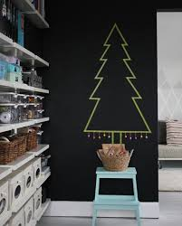 Ideas For Christmas Tree On The Wall by 15 Modern Christmas Decorating Ideas Design Milk