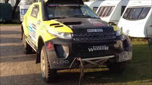 land rover dakar rallyraid uk desert warrior d4wn5 range rover evoque walk round