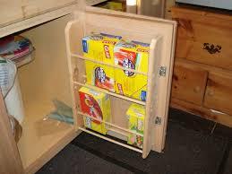 Homemade Kitchen Cabinet Door Organizers  Steps With Pictures - Kitchen cabinet door organizer