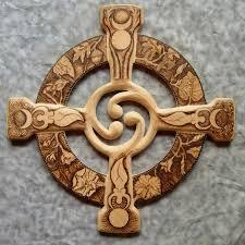 wooden celtic cross celtic wood carving figures wood carving burnedceltic wheel