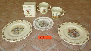 rabbit wedgwood wedgwood rabbit bunnykins china misc plates