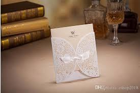 wedding invitations and gold wedding invitations laser cut flower bow 2015 wedding invitation