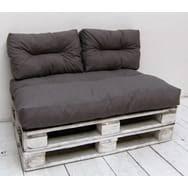coussin pour canapé palette coussin et pouf d extérieur pas cher à prix auchan