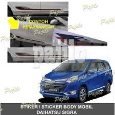Daihatsu Sigra Trunk Lid Cover Chrome informasi harga daihatsu sigra list kaca belakang rear window trim