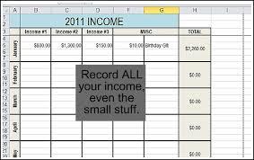 Income Tracker Spreadsheet Track Your Finances Andrea Dekker