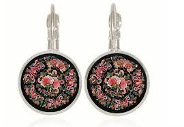 earrings online india aliexpress buy handmade mandala flower stud earrings online