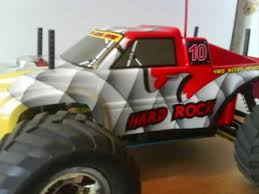 rc petrol monster truck show