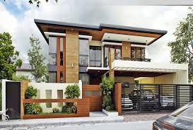 beautiful modern 2 story house floor plans villa to design ideas