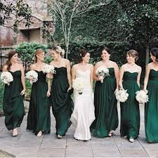 emerald green bridesmaid dress olive green bridesmaid dresses 2017 wedding ideas magazine