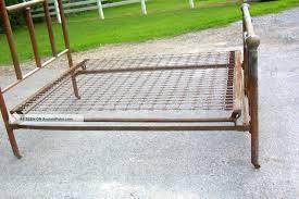 antique bed brass queen mattress fit sharp metal box dma homes