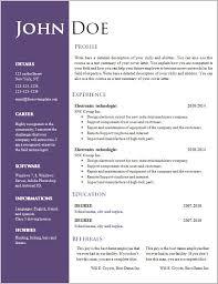 doc resume template free resume templates doc resume resume exles qoll2ejzm3