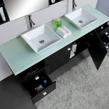 Bamboo Vanity Bathroom Bathroom Trough Sink Vanity 16 Inch Bathroom Vanity Home Depot
