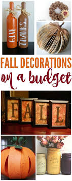 best 25 fall decorations diy ideas on fall diy