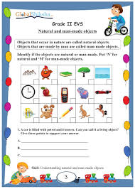 buy worksheets for class 2 environmental science evs and