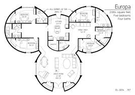 five bedroom floor plans floor plans 5 bedrooms monolithic dome institute